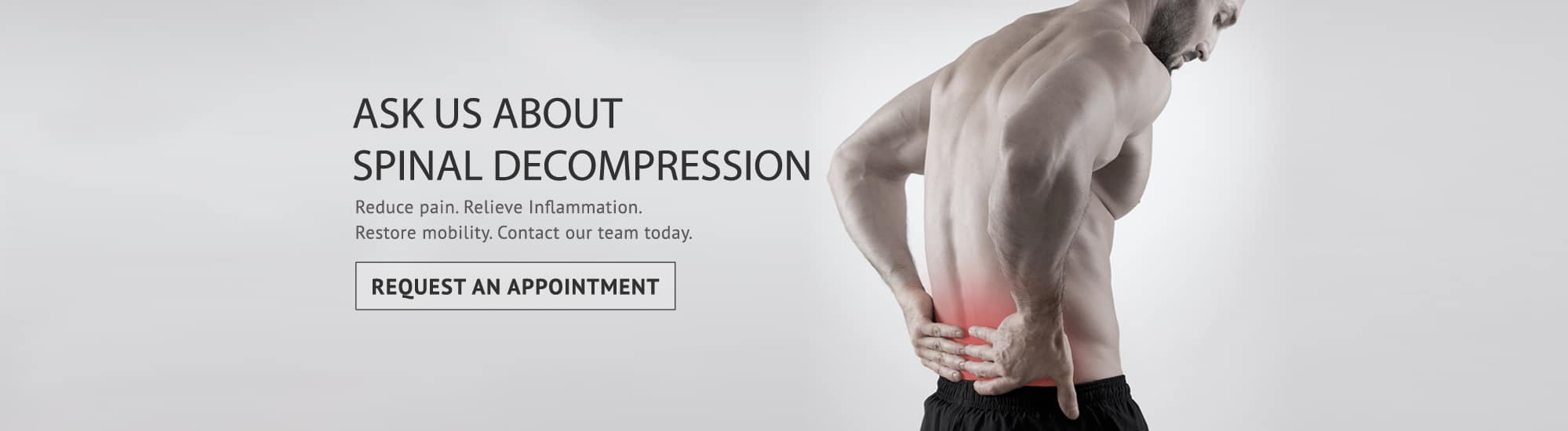 spinal decompression slider